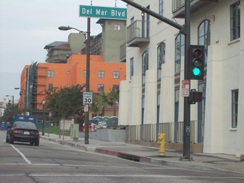 115 E Del Mar Blvd western view