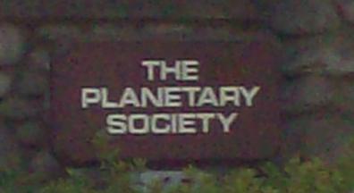 Planetary Society Sign