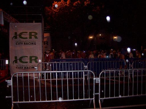Pasadena Marathon holding pens