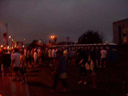 Pasadena Marathon port-o-johns