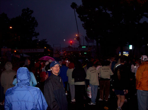 Pasadena Marathon 5k runners assemble
