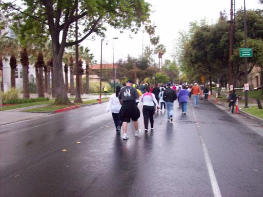 Pasadena Marathon in Caltech