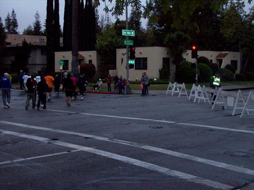 Pasadena Marathon spectators
